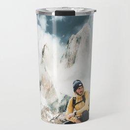 hiking in patagonia Travel Mug