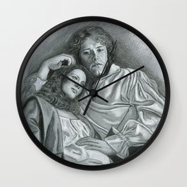 Outlander, the three of us Wall Clock