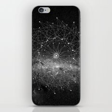 STARGAZING IS LIKE TIME TRAVEL iPhone Skin