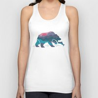 country Tank Tops featuring Bear Country by Rick Crane