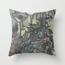 Afternoon Evaporators Throw Pillow