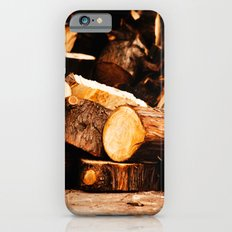 Chopped Wood iPhone 6s Slim Case
