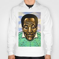 bill murray Hoodies featuring Bill Cosby by Portraits on the Periphery