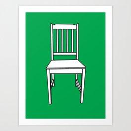 Chair, 2013. Art Print