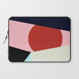 Circle Series - Red Circle No. 1 Laptop Sleeve