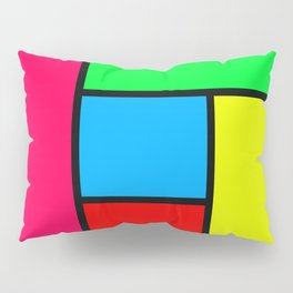 Lack of Talent Abstract #5 Pillow Sham