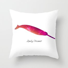 Lonely Dreamer 5 Throw Pillow