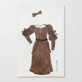 Anne of Green Gables Outfit, 2 Canvas Print