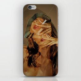 Station 53 x dreams in the night iPhone Skin