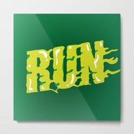 Run Metal Print
