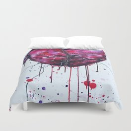Fused Hearts Duvet Cover