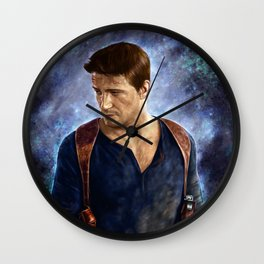 Uncharted a Thief's End Wall Clock