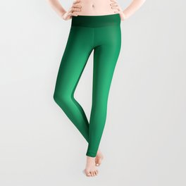 White spotlight on green Leggings
