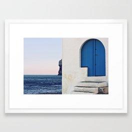 Esquinas Framed Art Print