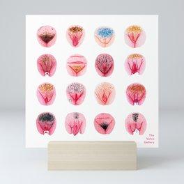 Vulva Diversity – Pink Mini Art Print