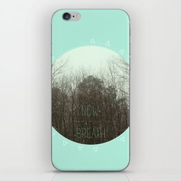 NOW BREATH (WINTER) iPhone Skin