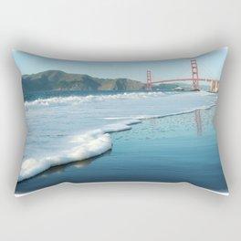 Golden Gate from Baker Beach Rectangular Pillow