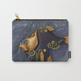 Steampunk Hatchetfish Carry-All Pouch