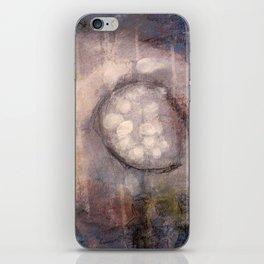 Lost Eye - Mixed Media Acrylic Abstract Modern Art, 2009 iPhone Skin