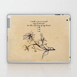 Sylvia Plath - I am Laptop & iPad Skin