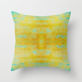 Silent Noon - Mid-Century Modern Geometry Throw Pillow