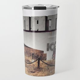 Pripyat town sign Travel Mug