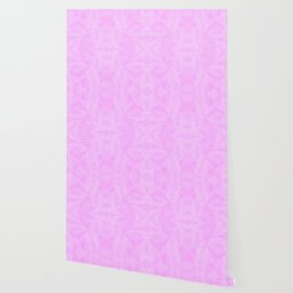 Palm Leaves - Orchid Pink Wallpaper
