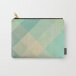 Ocean Plaid Carry-All Pouch
