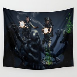 """""""SURROUNDED"""" Wall Tapestry"""