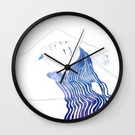 Water Nymph XLIX Wall Clock