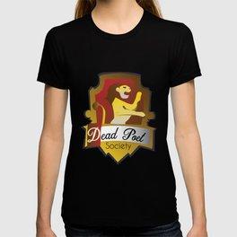 Dead Poet Society Club Logo T-shirt