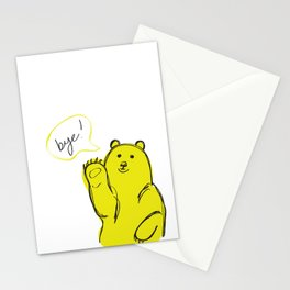 Bye Stationery Cards
