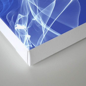 Electric Smoke Canvas Print