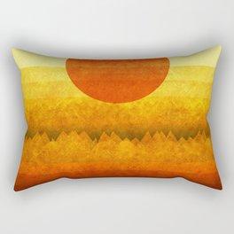 """""""Sunset between dreams"""" Rectangular Pillow"""
