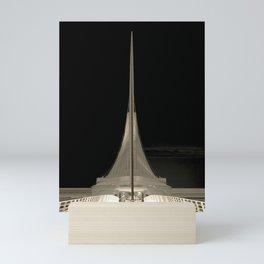 Milwaukee III Architecture by CALATRAVA | architect Mini Art Print