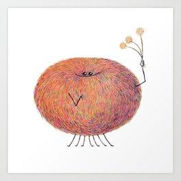 Poofy Streusel Art Print