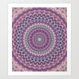 Mandala 436 Art Print