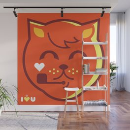 UNDO   ILU Pet Lover series [ tobias ] Wall Mural