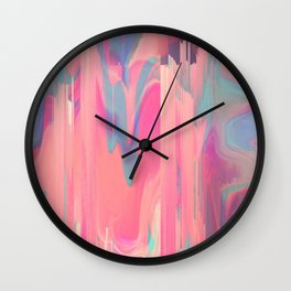 Simply Glitches Wall Clock