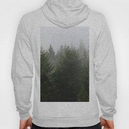 Foggy Trees Pacific Northwest Hoody