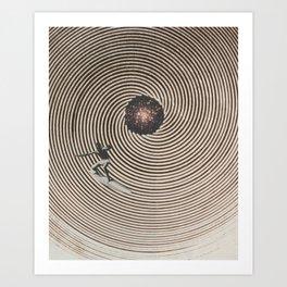 Curl Art Print