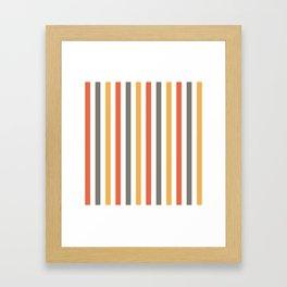 Simply Stripes Framed Art Print