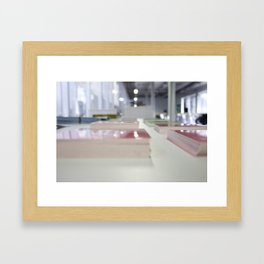 Pink Cards Framed Art Print