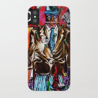 carnage iPhone & iPod Cases featuring Carnage by Alec Goss