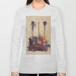 guitars 3 Long Sleeve T-shirt