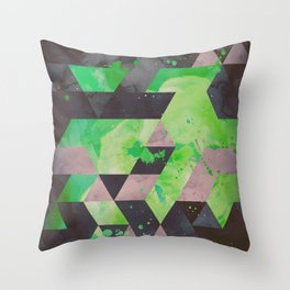 toxic hips Throw Pillow