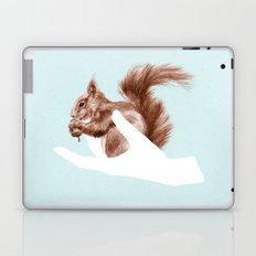 a friend in my hand 4 Laptop & iPad Skin