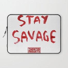 Stay Savage Laptop Sleeve