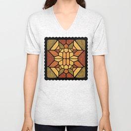 Sacred geometry - Voronoi Unisex V-Neck