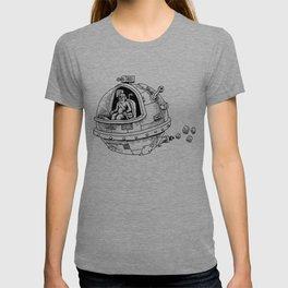 Yeti in Space T-shirt